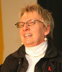 Die Theaterpädagogin: Inge Grein-Feil hat das Jubiläumsstück zusammen mit Siggi Feil und den Akteuren entwickelt.