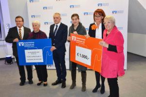 Spendenübergabe der Heidenheimer Volksbankstiftung